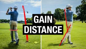gain distance golf