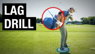 increase lag golf swing