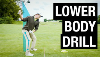 lower body golf swing